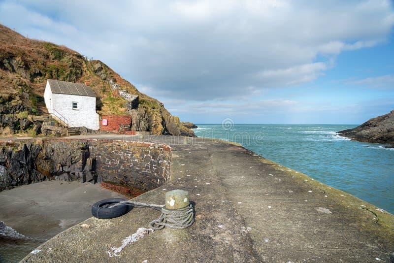 Λιμάνι Porthgain στοκ φωτογραφίες με δικαίωμα ελεύθερης χρήσης