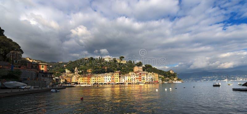 Λιμάνι Portofino - της Λιγυρίας Ιταλία στοκ φωτογραφίες με δικαίωμα ελεύθερης χρήσης