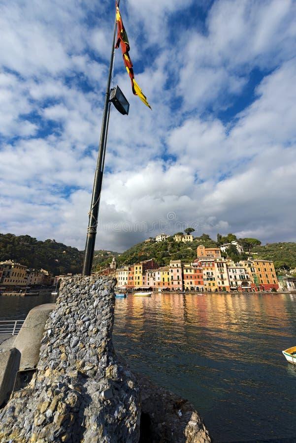 Λιμάνι Portofino - της Λιγυρίας Ιταλία στοκ εικόνα