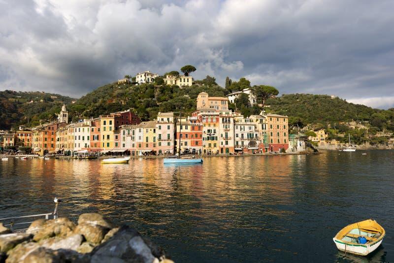 Λιμάνι Portofino - της Λιγυρίας Ιταλία στοκ φωτογραφίες