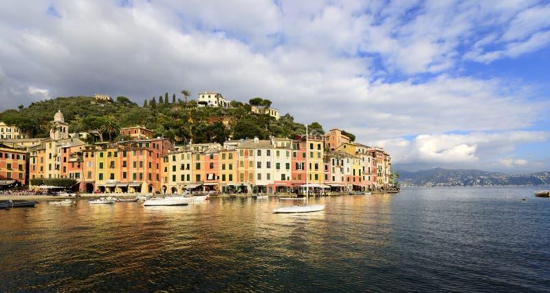 Λιμάνι Portofino - της Λιγυρίας Ιταλία στοκ εικόνες