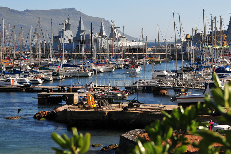 λιμάνι simonstown στοκ εικόνες