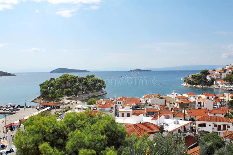 Λιμάνι Skiatos Ελλάδα 12 στοκ φωτογραφία με δικαίωμα ελεύθερης χρήσης