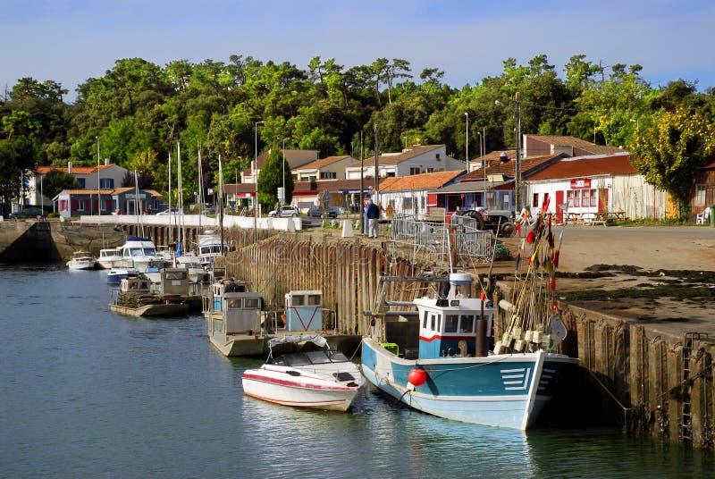 λιμένας Άγιος της Γαλλία&s στοκ φωτογραφία