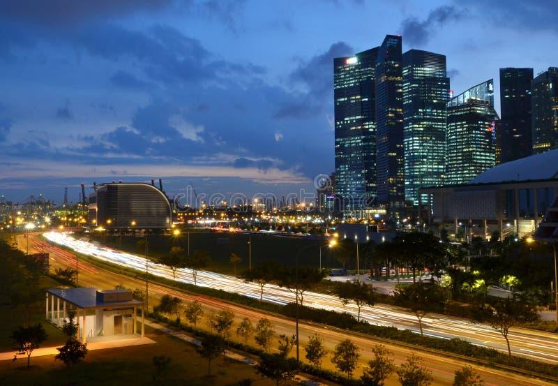 Λιμένας και εμπορικό κέντρο της Σιγκαπούρης στοκ φωτογραφίες