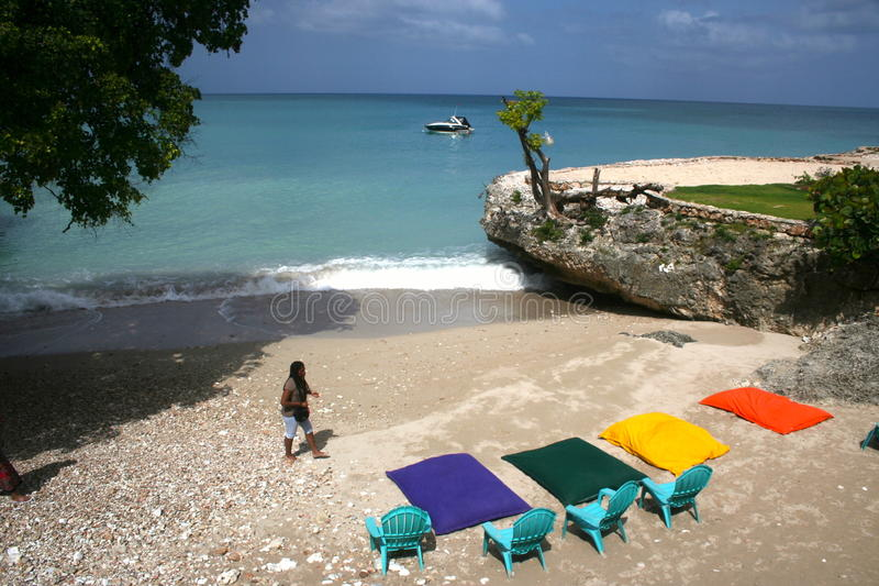 Λιμένας Ντάνιελ, Αϊτή στοκ φωτογραφίες