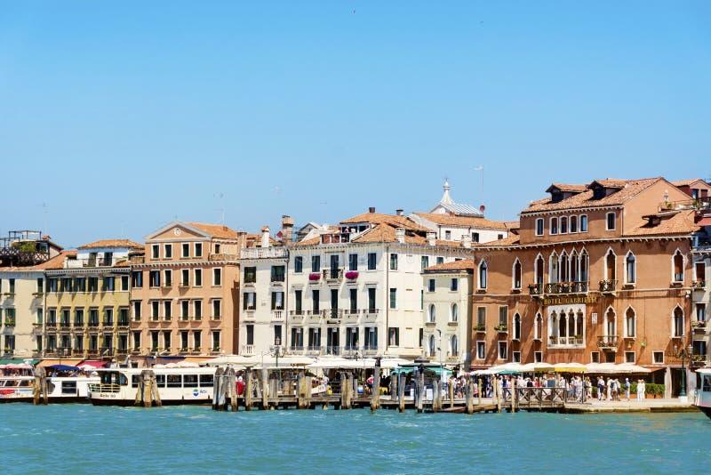 Λιμένας στη Βενετία, Ιταλία στοκ φωτογραφία