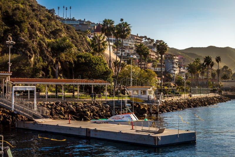 Λιμένας Avalon στη Catalina Island στοκ εικόνα με δικαίωμα ελεύθερης χρήσης