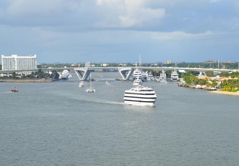 Λιμένας Everglades στο Fort Lauderdale στοκ φωτογραφίες