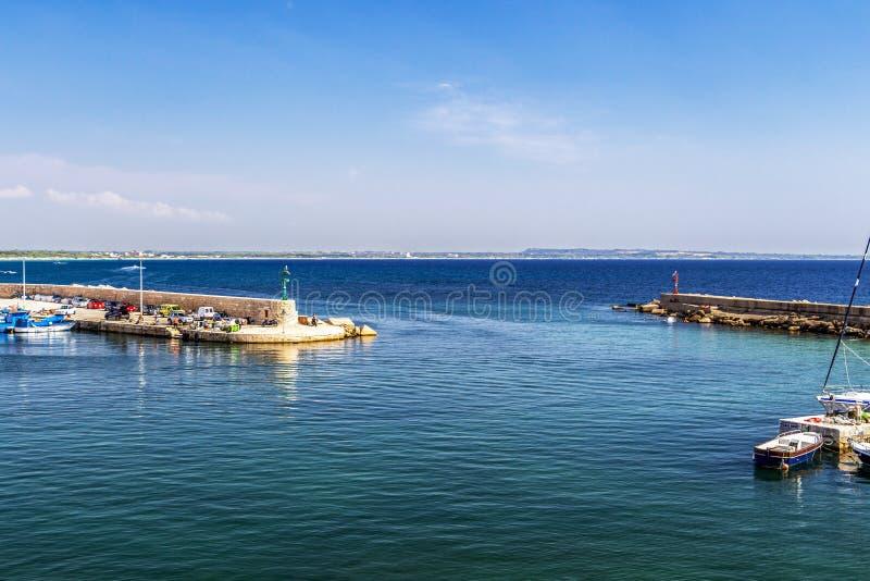 Λιμένας Gallipoli, επαρχία Lecce, Apulia, Ιταλία στοκ φωτογραφίες