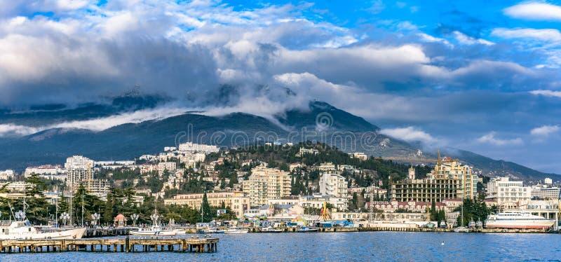 Λιμένας Yalta στοκ εικόνα με δικαίωμα ελεύθερης χρήσης