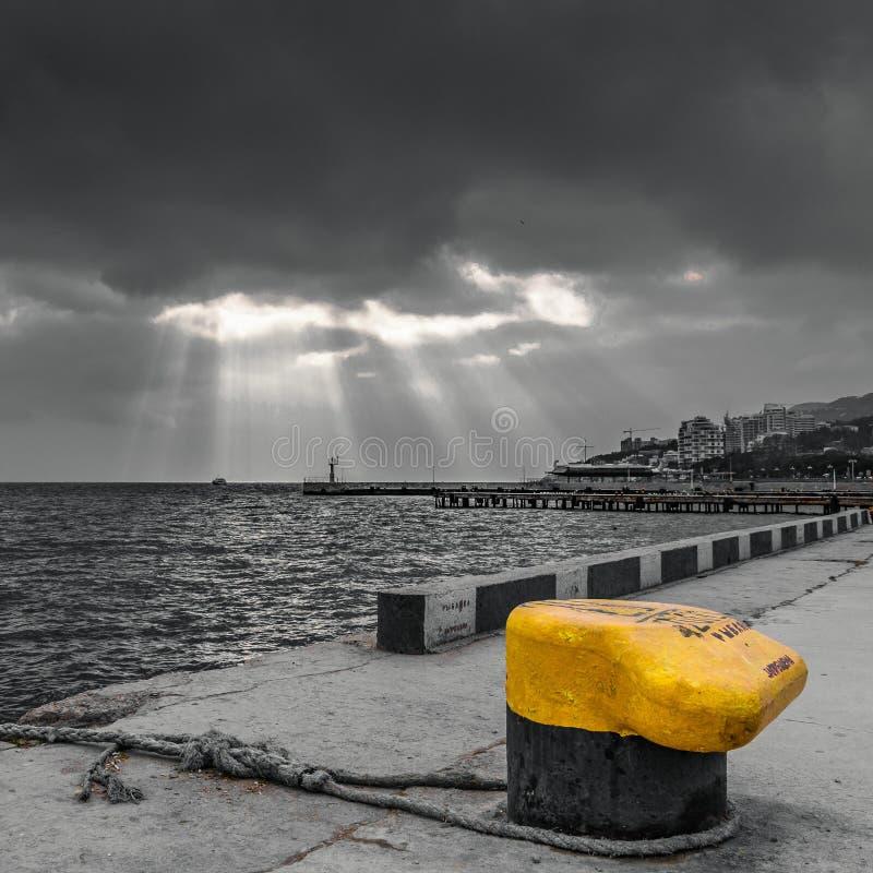 Λιμένας Yalta στοκ φωτογραφίες