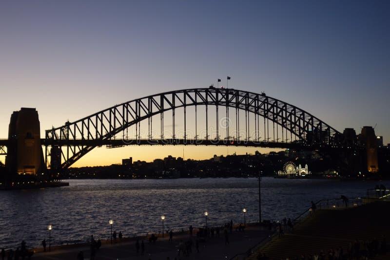 Λιμενική γέφυρα του Σίδνεϊ στοκ φωτογραφία