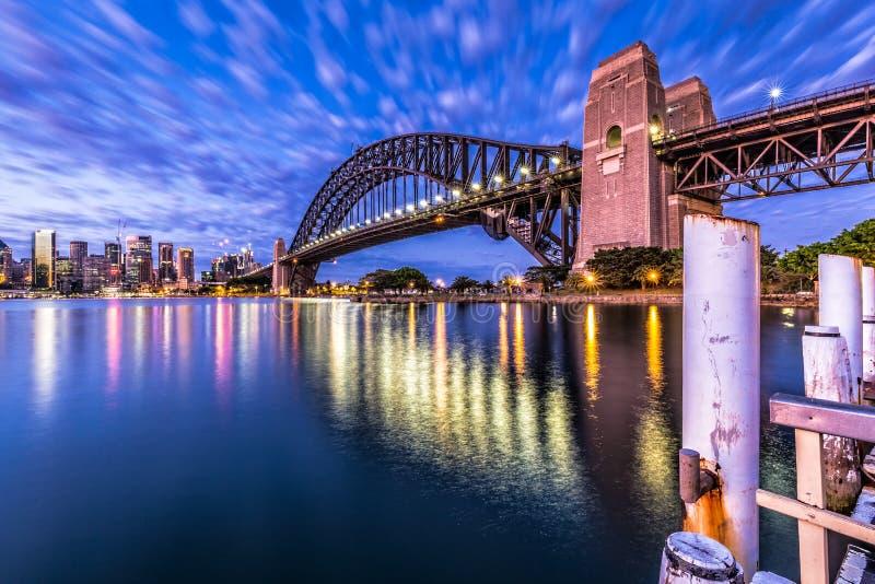 Λιμενική γέφυρα του Σίδνεϊ στοκ εικόνα