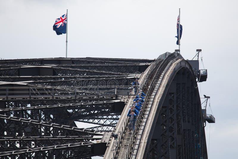 Λιμενική γέφυρα του Σίδνεϊ στοκ φωτογραφίες