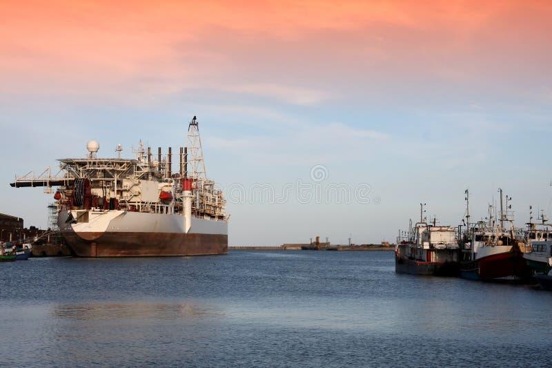 λιμενικό σκάφος βαρκών στοκ εικόνα