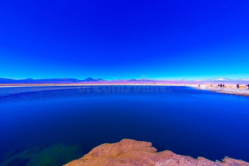 Λιμνοθάλασσα Cejar cejar laguna Λίμνη Cejar στοκ φωτογραφίες με δικαίωμα ελεύθερης χρήσης