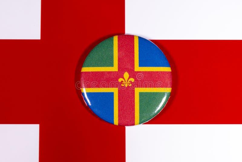 Λινκολνσάιρ στην Αγγλία στοκ φωτογραφίες με δικαίωμα ελεύθερης χρήσης