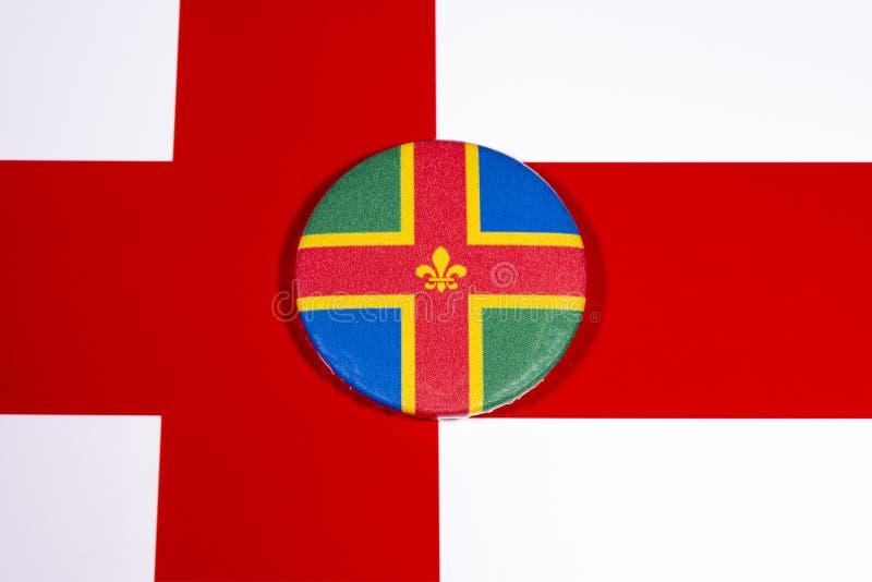 Λινκολνσάιρ στην Αγγλία στοκ εικόνα με δικαίωμα ελεύθερης χρήσης