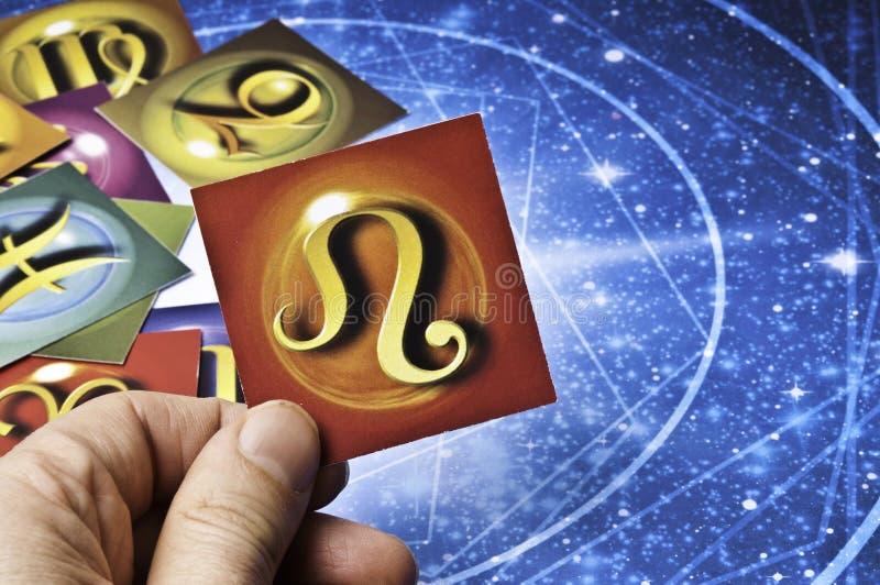 Λιοντάρι αστρολογίας στοκ φωτογραφία με δικαίωμα ελεύθερης χρήσης