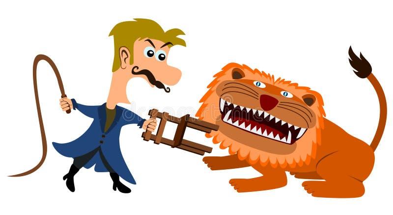 λιοντάρι πιό ήμερο διανυσματική απεικόνιση
