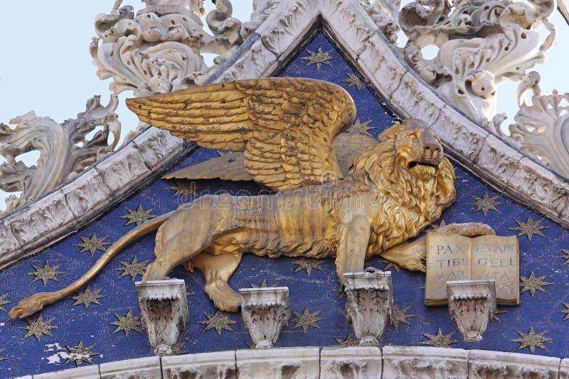 Λιοντάρι του σημαδιού Αγίου στοκ εικόνα