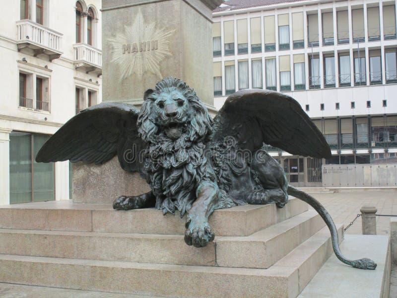 Λιοντάρι του σημαδιού Αγίου στοκ φωτογραφίες