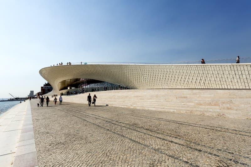 Λισσαβώνα - μουσείο MAAT στοκ φωτογραφίες με δικαίωμα ελεύθερης χρήσης