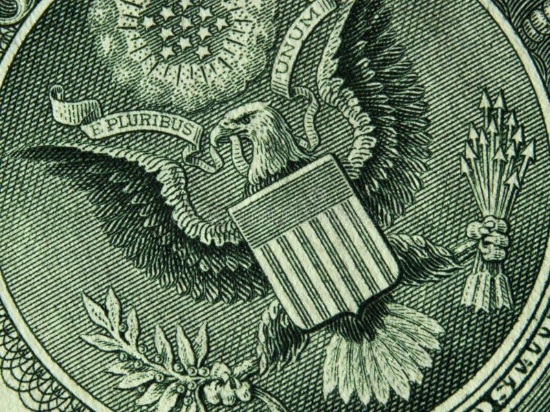 Λογαριασμός αμερικανικών δολαρίων στοκ φωτογραφία