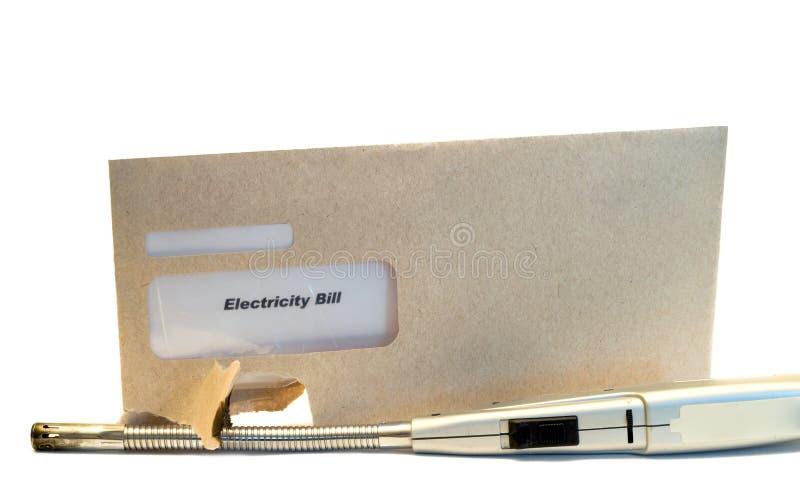 λογαριασμός ηλεκτρικός στοκ φωτογραφία με δικαίωμα ελεύθερης χρήσης