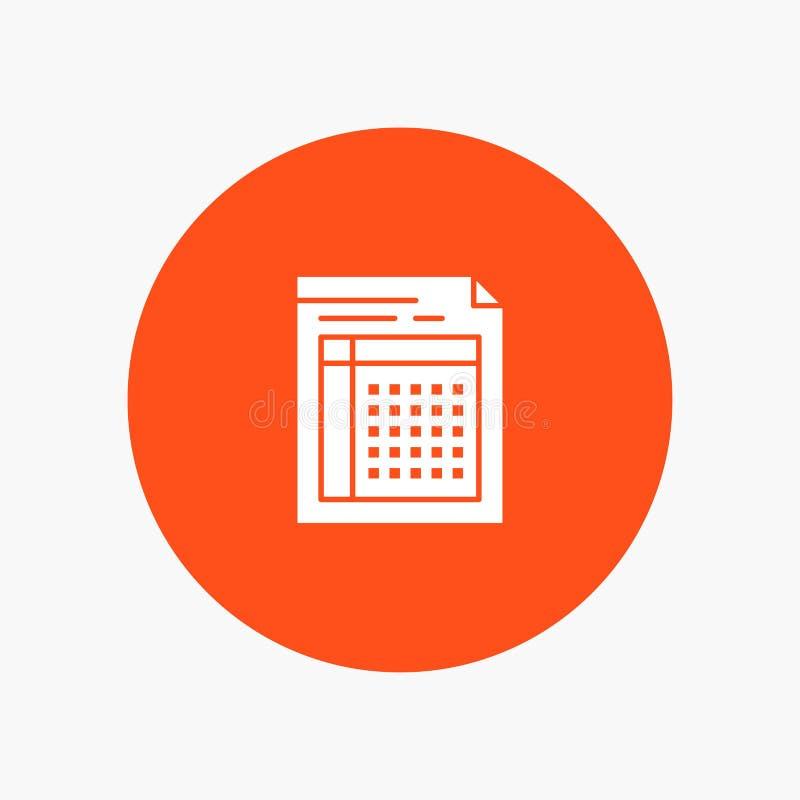 Λογιστικός έλεγχος, Μπιλ, έγγραφο, αρχείο, μορφή, τιμολόγιο, έγγραφο, φύλλο διανυσματική απεικόνιση