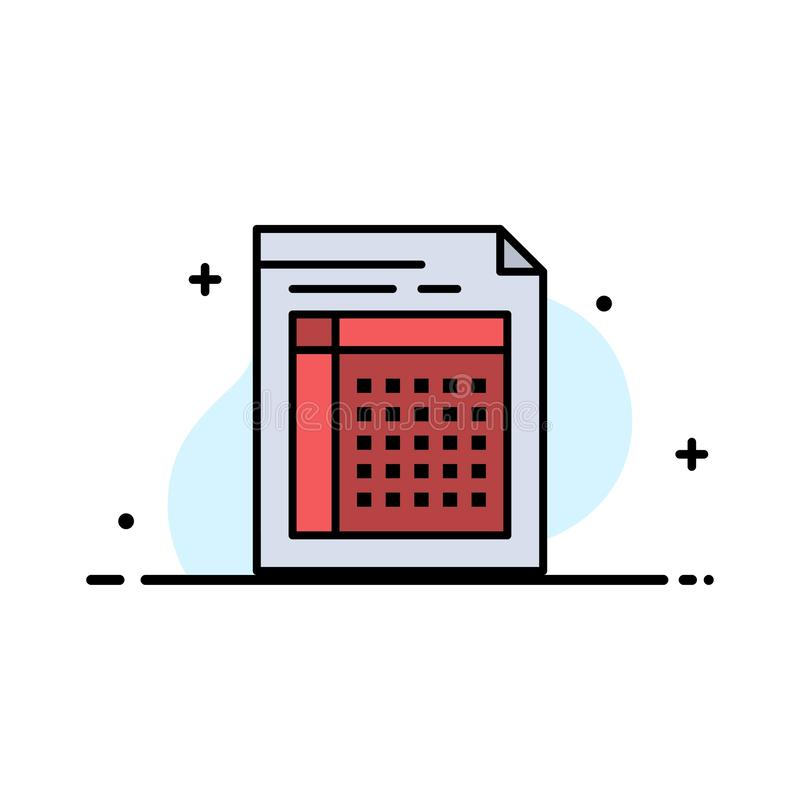 Λογιστικός έλεγχος, Μπιλ, έγγραφο, αρχείο, μορφή, τιμολόγιο, έγγραφο, φύλλων πρότυπο εμβλημάτων επιχειρησιακών επίπεδο γεμισμένο  διανυσματική απεικόνιση