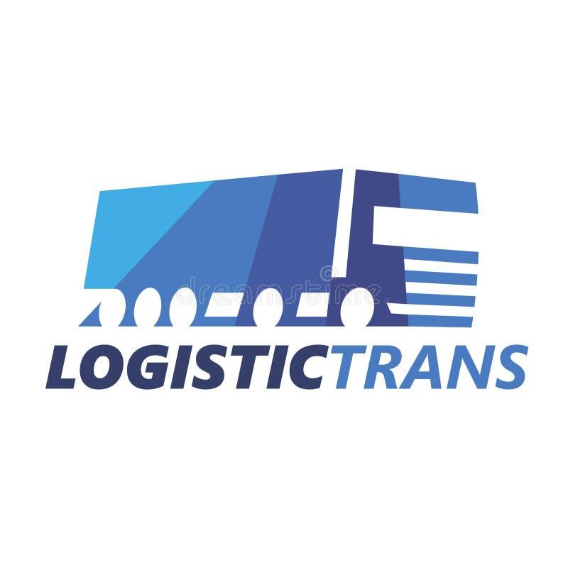 Λογιστικό φορτηγό Logotype EPS10 απεικόνιση αποθεμάτων