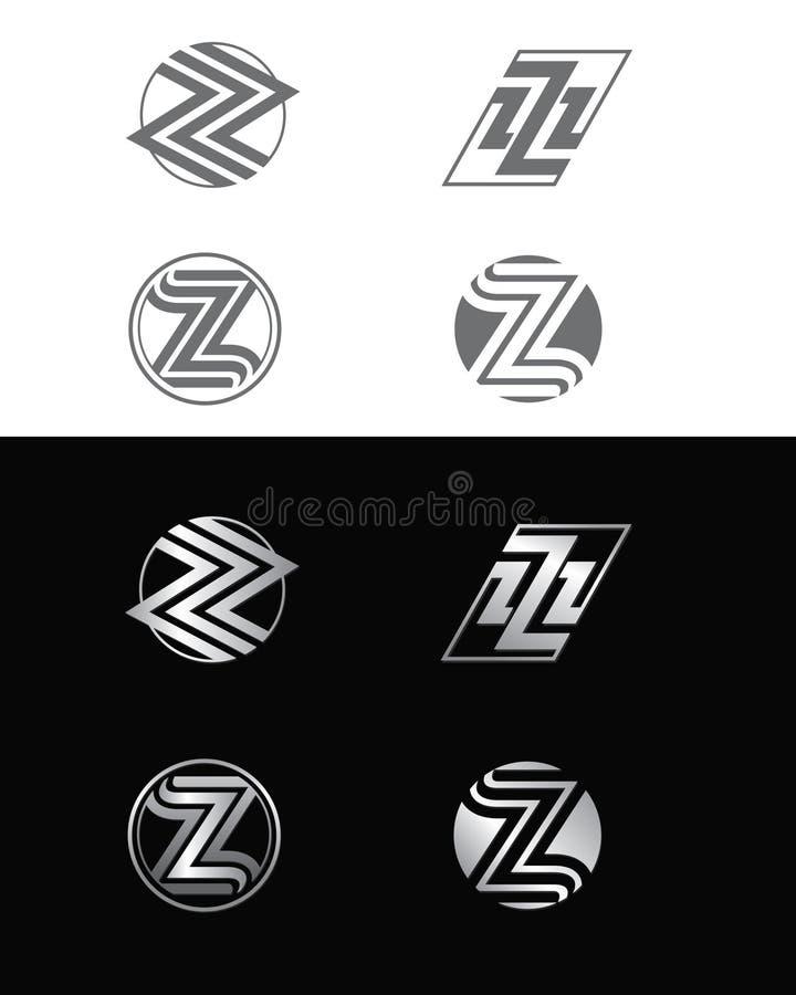Λογότυπα Ζ ελεύθερη απεικόνιση δικαιώματος