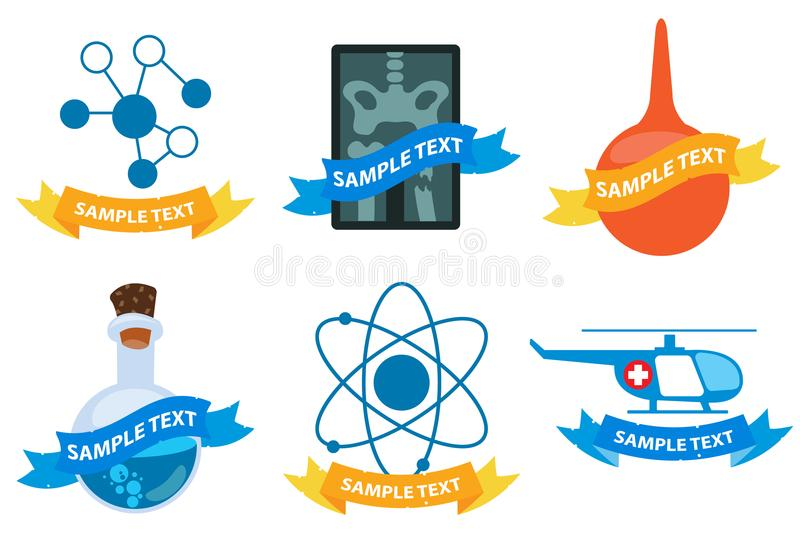 λογότυπα ιατρικά απεικόνιση αποθεμάτων