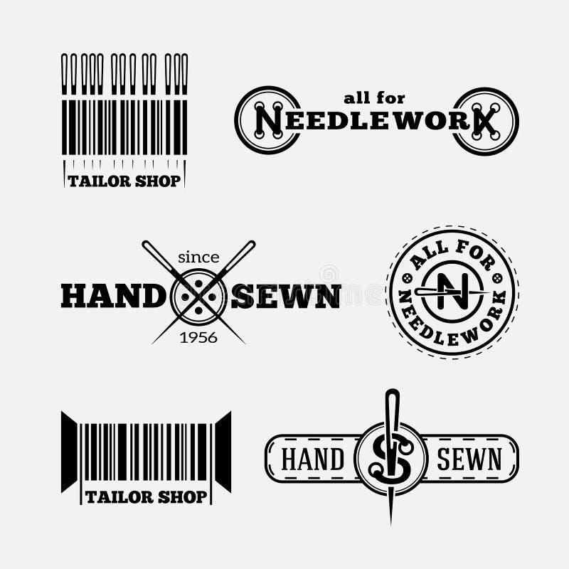 Λογότυπα ραφτών ελεύθερη απεικόνιση δικαιώματος