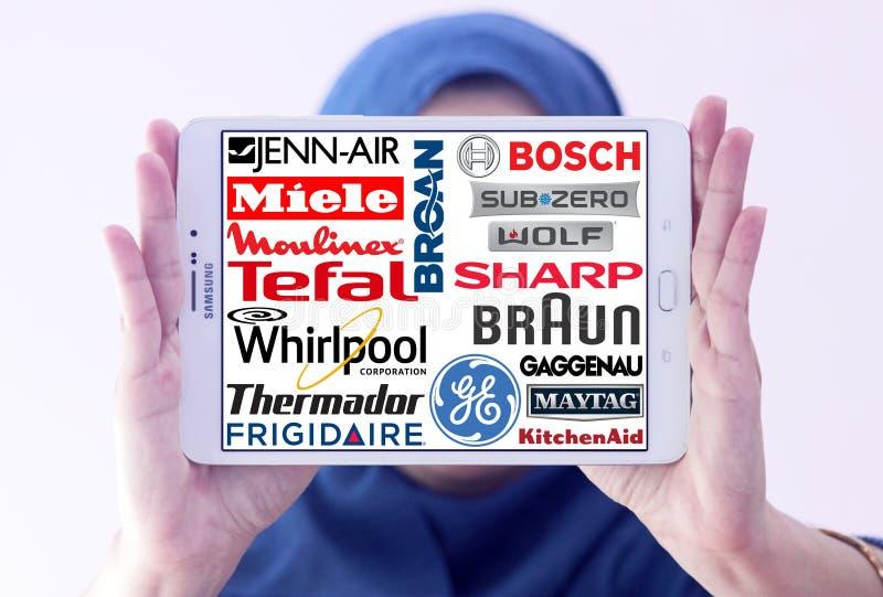 Λογότυπα συσκευών κουζινών στοκ φωτογραφία με δικαίωμα ελεύθερης χρήσης