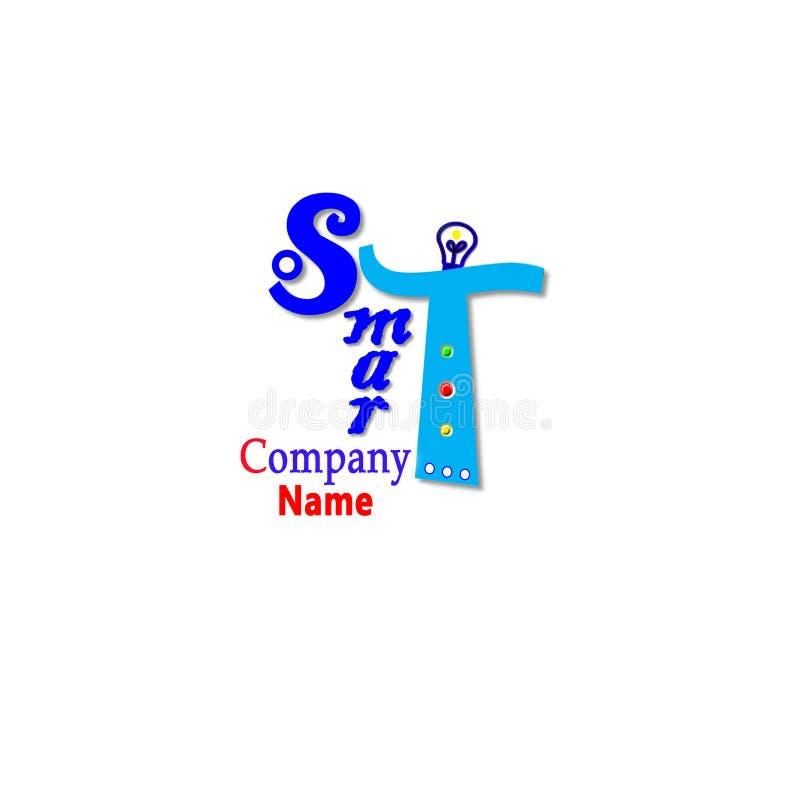 Λογότυπο-έξυπνος ελεύθερη απεικόνιση δικαιώματος