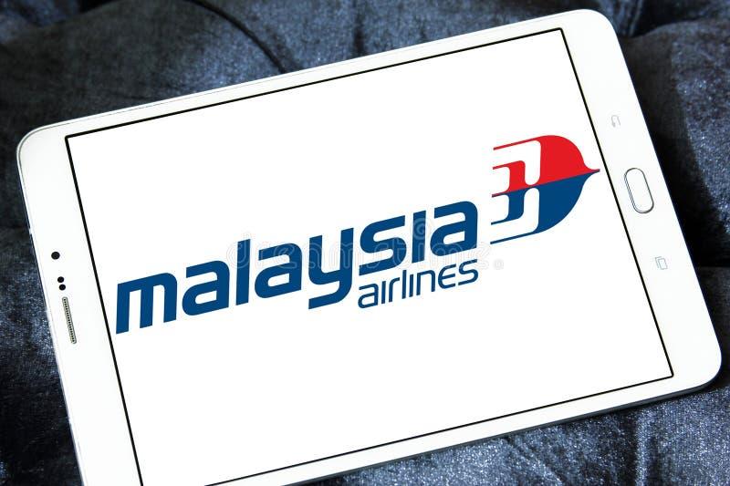 Λογότυπο αερογραμμών της Μαλαισίας στοκ φωτογραφία