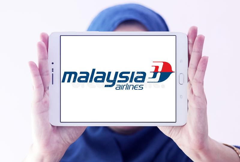 Λογότυπο αερογραμμών της Μαλαισίας στοκ εικόνα