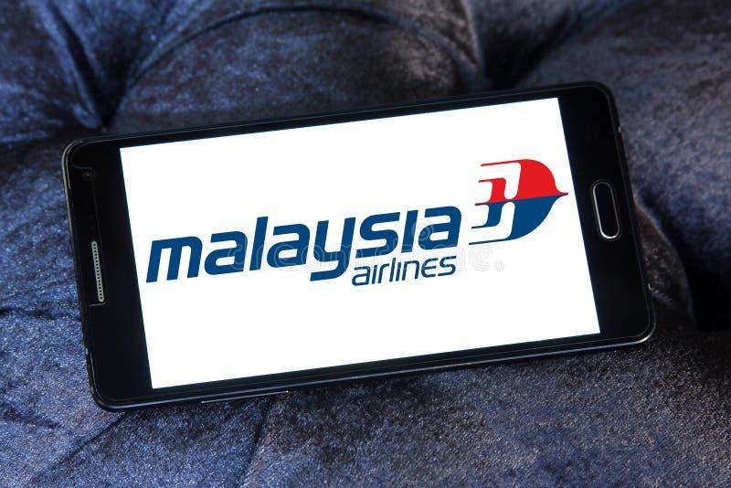 Λογότυπο αερογραμμών της Μαλαισίας στοκ φωτογραφίες με δικαίωμα ελεύθερης χρήσης