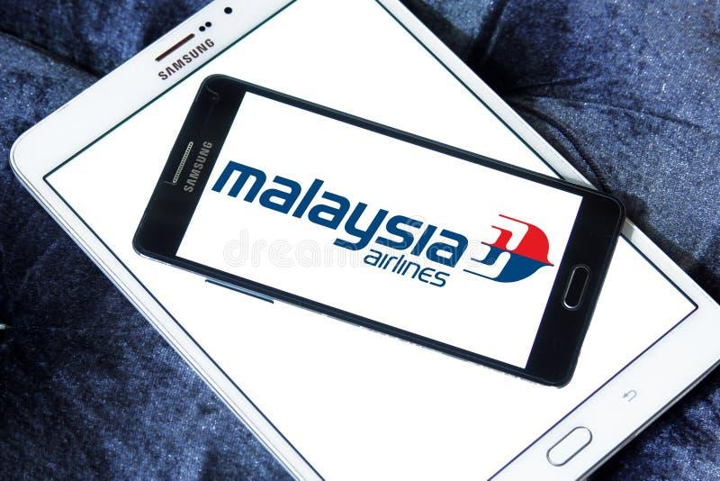 Λογότυπο αερογραμμών της Μαλαισίας στοκ φωτογραφία με δικαίωμα ελεύθερης χρήσης