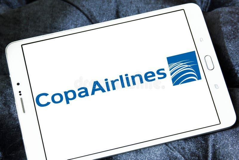 Λογότυπο αερογραμμών Copa στοκ φωτογραφία με δικαίωμα ελεύθερης χρήσης
