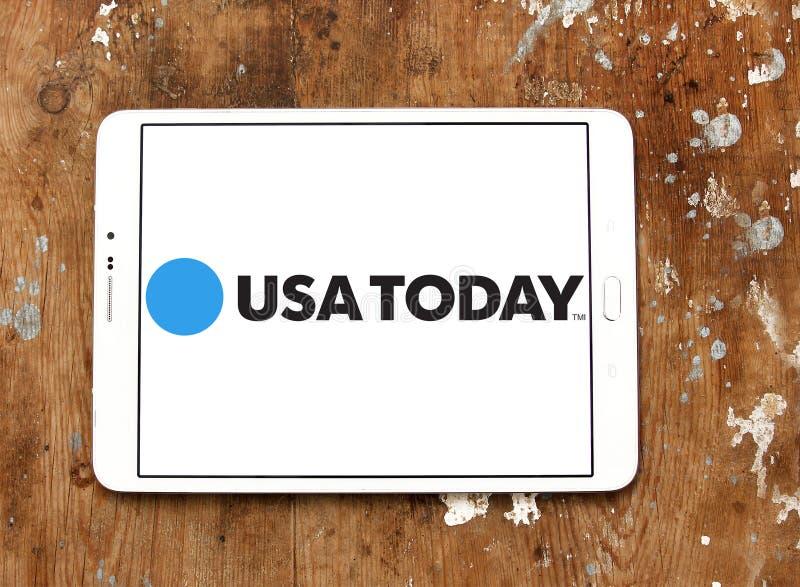 Λογότυπο αμερικανικών σήμερα εφημερίδων στοκ φωτογραφία με δικαίωμα ελεύθερης χρήσης