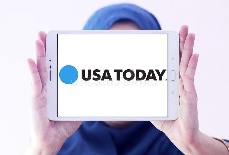 Λογότυπο αμερικανικών σήμερα εφημερίδων στοκ φωτογραφίες