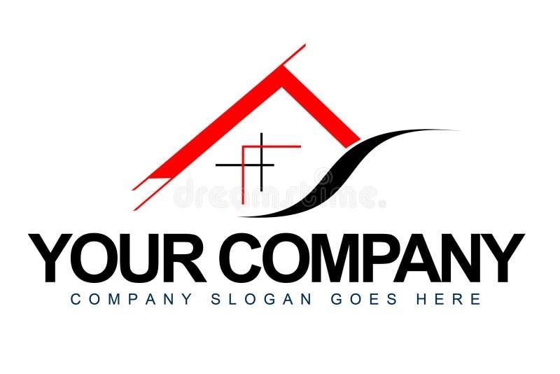 Λογότυπο αρχιτεκτονικής απεικόνιση αποθεμάτων