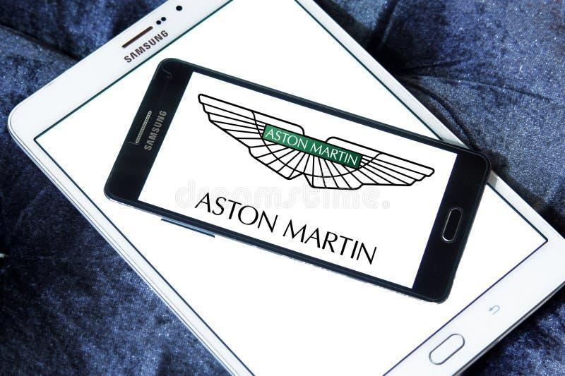 Λογότυπο αυτοκινήτων του Άστον Martin στοκ εικόνες