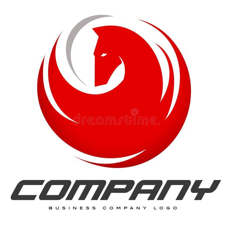 Λογότυπο αλόγων διανυσματική απεικόνιση
