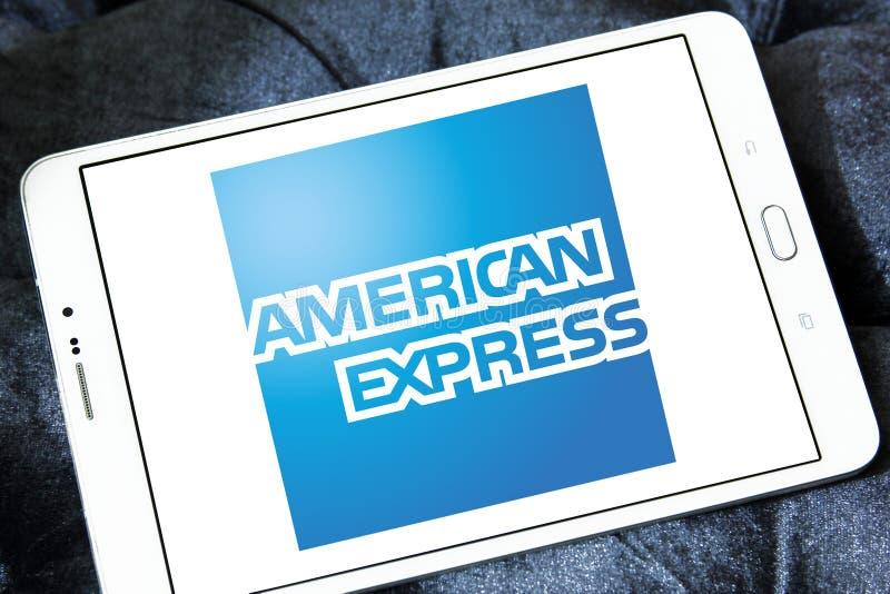 Λογότυπο Αmerican Εxpress στοκ φωτογραφία με δικαίωμα ελεύθερης χρήσης
