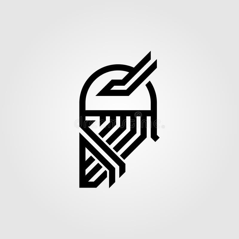 Λογότυπο Βίκινγκ απεικόνιση αποθεμάτων